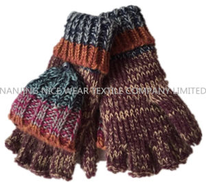 Kids Cute Knitted Gloves with Jacquard
