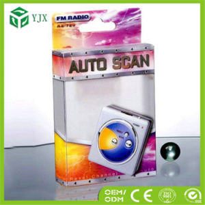 Customized FM Auto Scan Radio Plastic Hanging Packaging Box