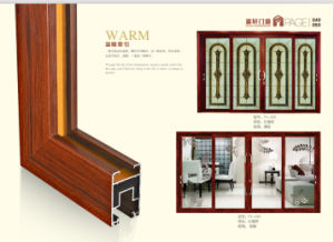 Middle Hung Windowaluminum Center Pivot Window/Awning Window pictures & photos