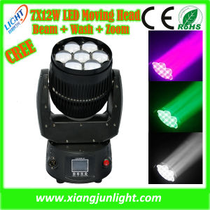 New Bee Eye LED Beam and Wash Moving Head Light 7X12W pictures & photos