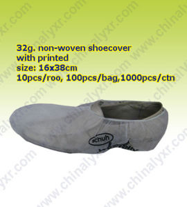 Non Woven Non-Skid Shoecover (LY-NSC-PW) pictures & photos