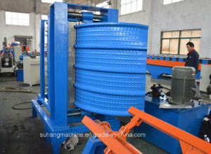 Quality Corrugated Metal Roof Sheet Panel Hydraulic Arch Curving Crimping Bending Machine pictures & photos