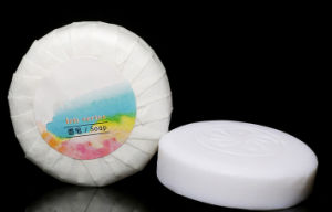 Hot Sale Hotel Round Soap pictures & photos