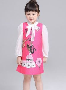 Fashion Lovely Girl Dress in Baby Children Garment pictures & photos