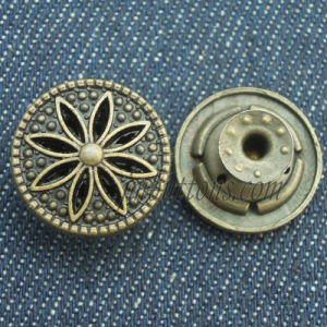 Elegant Design Remove Metal Button for Clothing pictures & photos