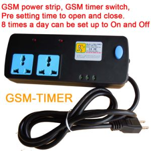 2 Way GSM Remote Control Timer Working Power Strip