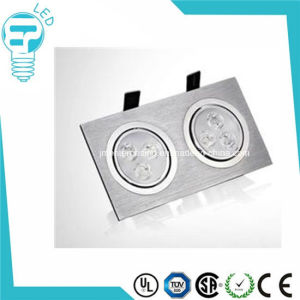 High Quality Two Head Square LED Down Light pictures & photos