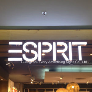 Chain Store Backlit Metal LED Channel Letter Sign pictures & photos