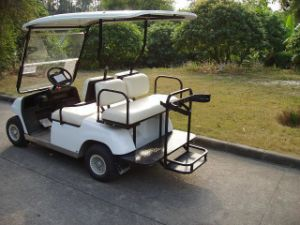 Four Seaters China Manufacture Electric Golf Buggy pictures & photos