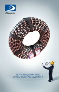 Reliable Quality Sintered Diamond Wire Saw for Stone Cutting pictures & photos