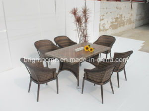 Outdoor Dining Chair and Table Set/Wicker Furniture/Garden Outdoor Furniture pictures & photos