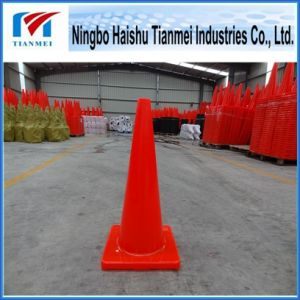 28′′ Height 100% New PVC Traffic Safety Cone, Road Cone pictures & photos