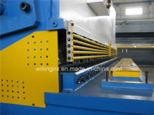 Guillotine Shear Swing Beam Metal Steel Plate Shearing Machine pictures & photos
