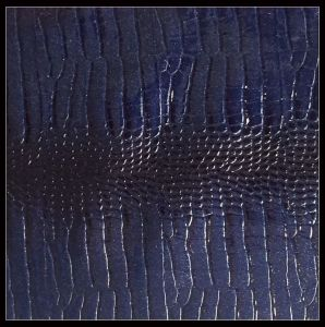 Snakeskin Pattern Thickness 1.2 mm PVC Leather, Synthetic Leather for Hand Bag pictures & photos