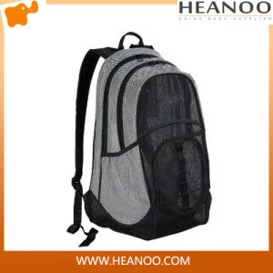 Famous Brand Wholesale Custom Mesh Backpack Rucksack for Men pictures & photos