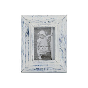 Wash White Wooden Photo Frame for Home Decoration pictures & photos