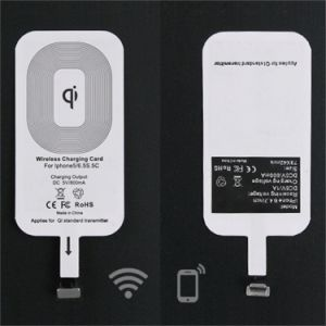 Portable Ultra Slim Wireless Charger Charging Pad, Wireless Power Charger Inductive Mobile Phone Charger pictures & photos