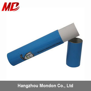 Blue Diploma Tube with Print Colorful Logo for Graduation Certificate pictures & photos