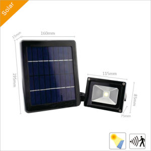3W Solar Garden LED Flood Lights with Solar Panel for Outdoor Lighting