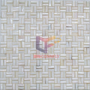 Natural Shell Without Gap Style Mother of Pearl Mosaic (CFP107) pictures & photos