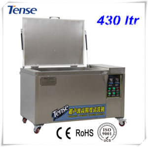 Tense Ultrasonic Cleaning Equipment with Drain/Wheels/Intake/Basket (TS-800) pictures & photos
