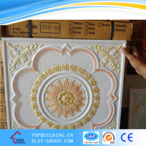 Colourfull Gypsum Ceiling Tile /Calcium Silicate Board pictures & photos