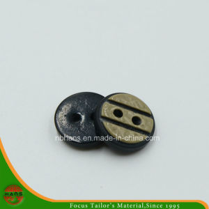 2 Holes New Design Polyester Shirt Button (S-123) pictures & photos