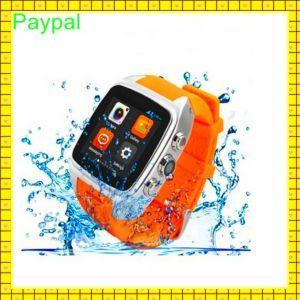 Waterproof IP67 Built in WiFi GPS Smart Watch Phone 3G WiFi pictures & photos