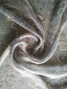 Silk Viscose Blend Chiffon pictures & photos