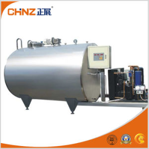 Hot Selling High Quality Horizontal Milk Cooler Tank pictures & photos