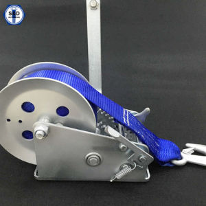 Hand Winch 1500lbs with Cable Dacromet