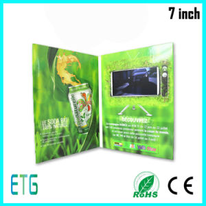 """2014 Innovative 7"""" Video Greeting Card/Name Card, Custom Video Business Card pictures & photos"""