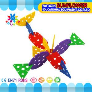 Children Plastic Desktop Toy Ikebana Building Blocks pictures & photos