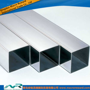 ASTM DIN 304 Stainless Steel Tube Square Pipe pictures & photos