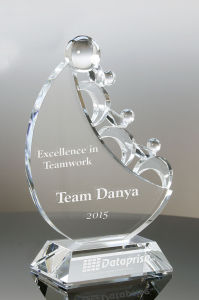 Hot Selling Advancing Together Crystal Award pictures & photos