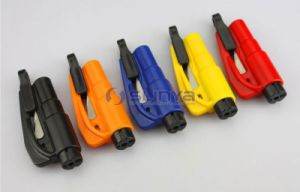 New Promotion Gift Color 3 in 1 Whistle Safety Belt Cut Knife Mini Keychain Escape Tool Car Auto Window Breaker (1126) pictures & photos