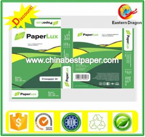 Virgin Wood Pulp Copy Paper (70g-80g)/A4 paper pictures & photos