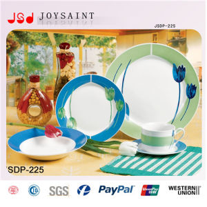 Customized 20PCS Round Shape Dinner Set pictures & photos