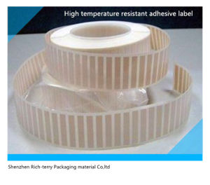 High Temperature Resistant Adhesive Label&Sticker pictures & photos