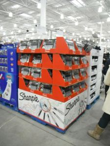 Hotsale Printed Cardboard Promotional Pallet Counter Display Box pictures & photos