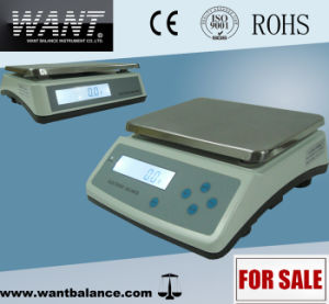 30kg 0.1g Top Loading Digital Scale with Under Weighing Hook pictures & photos