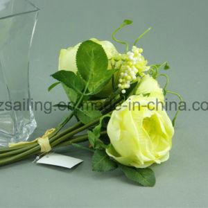 Big Decorative Royal Rose Bouquet Artificial Flower (SF12508) pictures & photos
