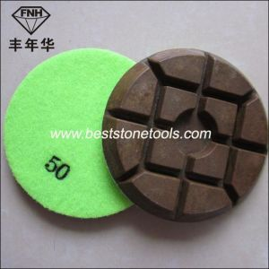 Cr-14 Typhoon Diamond Wet Dry Polishing Pad for Concrete Floor pictures & photos