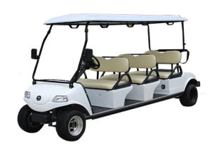 Electric Golf Cart Del3062g 6-Seater Golf Car Used in Football Field pictures & photos