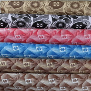 Non Woven Backing PVC Fabric Leather for Car, Sofa, Bags, Decoration pictures & photos