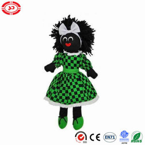 Daily Maid with Green Dressing Stuffed Cute Golliwog Doll pictures & photos