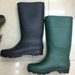 China Factory Industrial PVC Rain Working Safety Boots pictures & photos