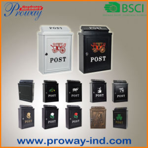 New Design Mail Box with Colorful Parttern (pH-551) pictures & photos