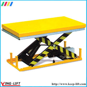 Single Scissor Electric Lifting Table Ylf1001 pictures & photos