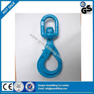 G100 Forged Alloy Steel Swivel Selflocking Hook pictures & photos